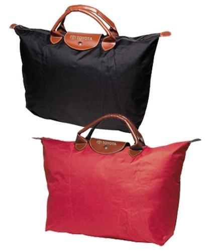 Toyota Folding Zippered Tote Bag
