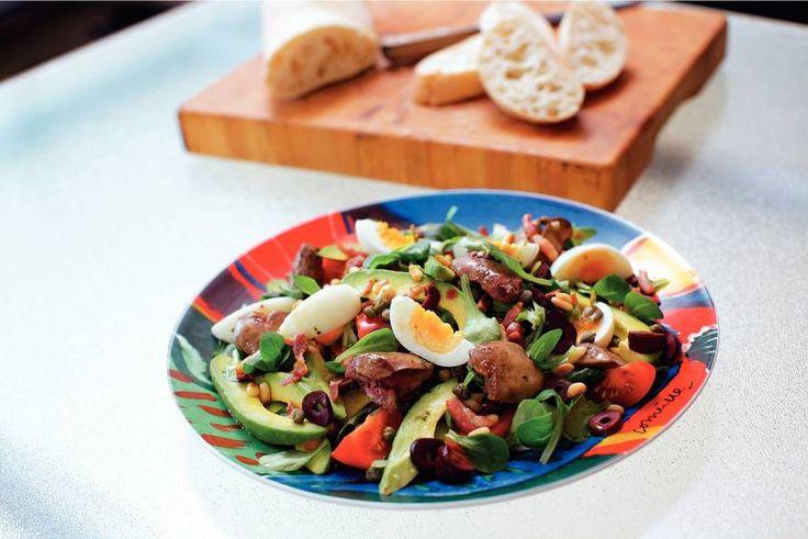 Kijk wat een lekker recept ik heb gevonden op Allerhande! Salade Paysanne de Clémentine