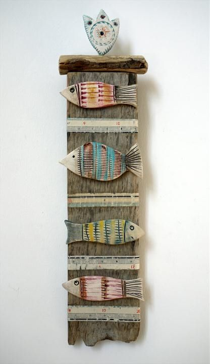 Four Fishes - Shirley Vauvelle