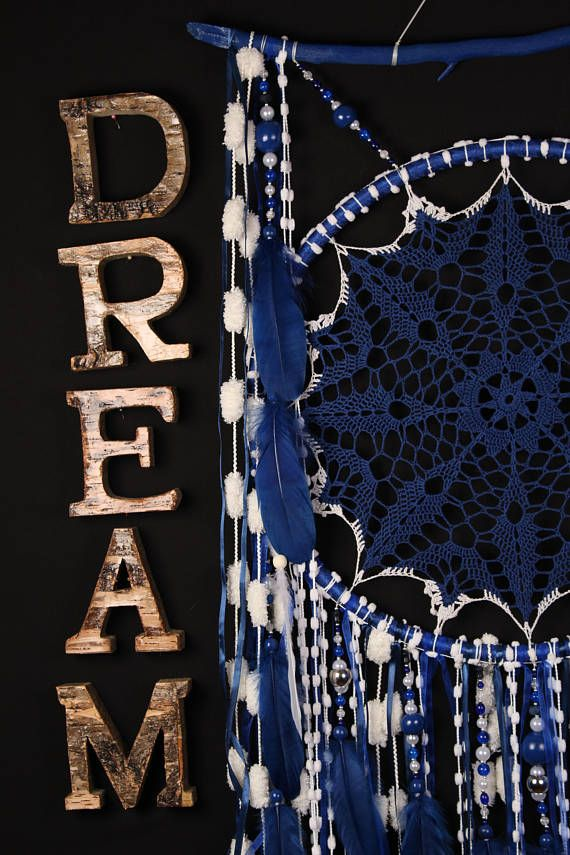 Blue Dreamcatcher Boho Dream Catcher Large white crochet dreamcatcher gifts wedding ceremony photo backdrop Dreamcatchers Bohemian handmade the word DREAM - not for sale *********************************************** Sodalite and zodiac signs Astrologers believe that the