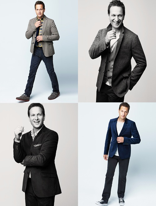 I love when celebrities aren't afraid to be proud of where they're from. <3 Josh Charles