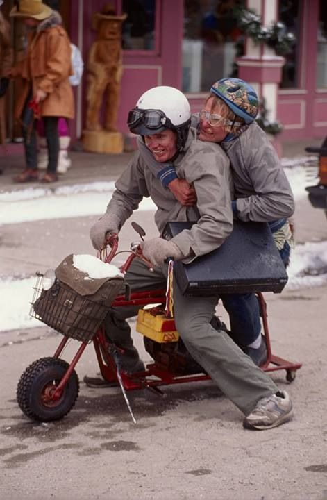 Dumb And Dumber Frozen Scooter Gif