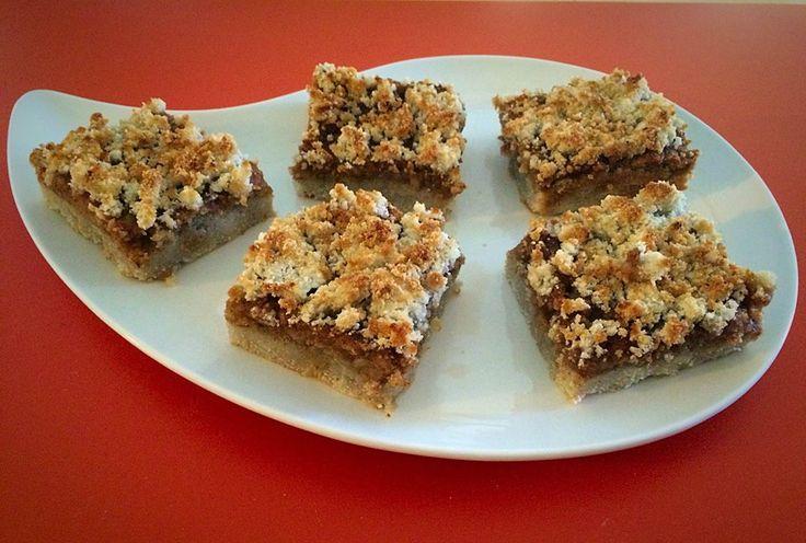 Vegán és paleo diétás almás / túrós / mákos / erdei gyümölcsös morzsa pite recept