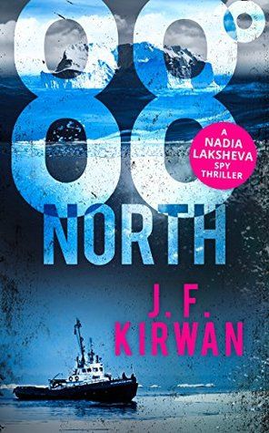 #BlogTour #Extract ~ 88˚ North by J.F.Kirwan @kirwanjf @NeverlandBT