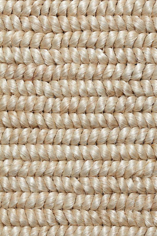 Cordova Abaca Rug In Pearl Colorway, By Merida.