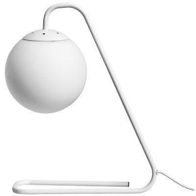 Boul bordslampa från Bloomingville. En dekorativ bordslampa i vitt som liknar vid en större modell a...
