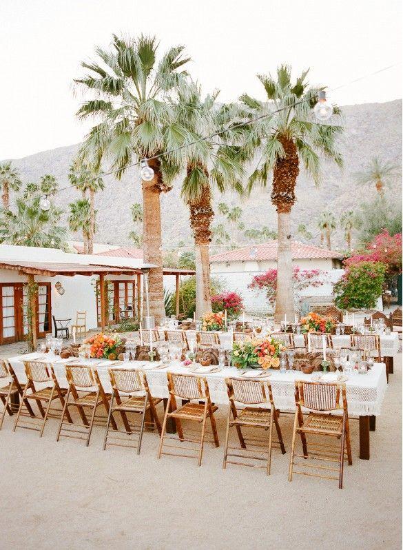 Dessert setting for wedding