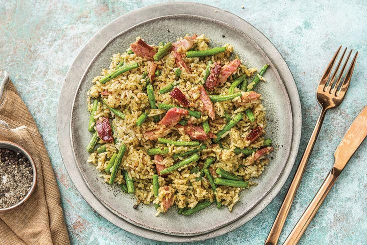 Ham & Pecan-Basil Pilaf Recipe | HelloFresh