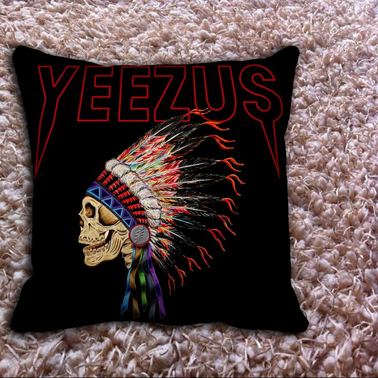 Yeezus Kanye West Pillow Covers //Price: $12.50 //     #Tshirt