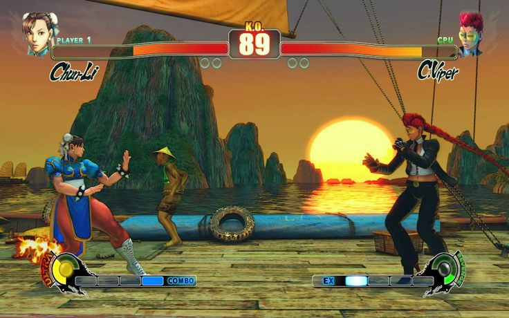 Street Fighter IV PC Game Screenshots
