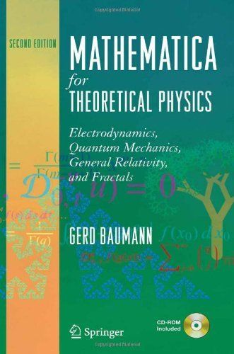 Mathematica for Theoretical Physics: Electrodynamics, Quantum Mechanics, General Relativity, and Fractals by Gerd Baumann, http://www.amazon.com/dp/0387219331/ref=cm_sw_r_pi_dp_Fd6Asb14CS52R