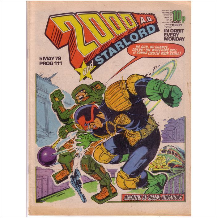 2000AD and Starlord Comics Prog #111 5th May 1979 Judge Dredd on eBid United Kingdom