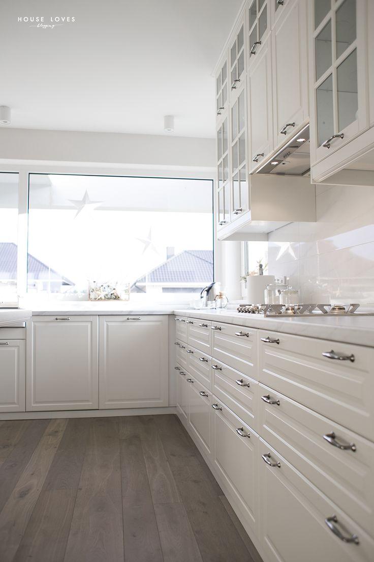 white ikea bodbyn kitchen