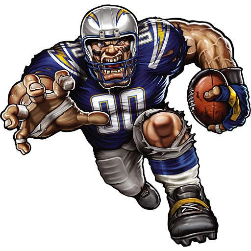 San Diego Chargers Art: 89 Best Los Angeles Chargers Images On Pinterest