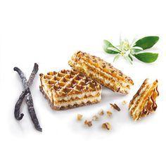 Heerlijke vanillewafels, verlaagd in koolhydraten, verhoogd in eiwitten voor een sneller vol gevoel.