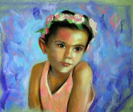 Soft pastels by Louise Webber