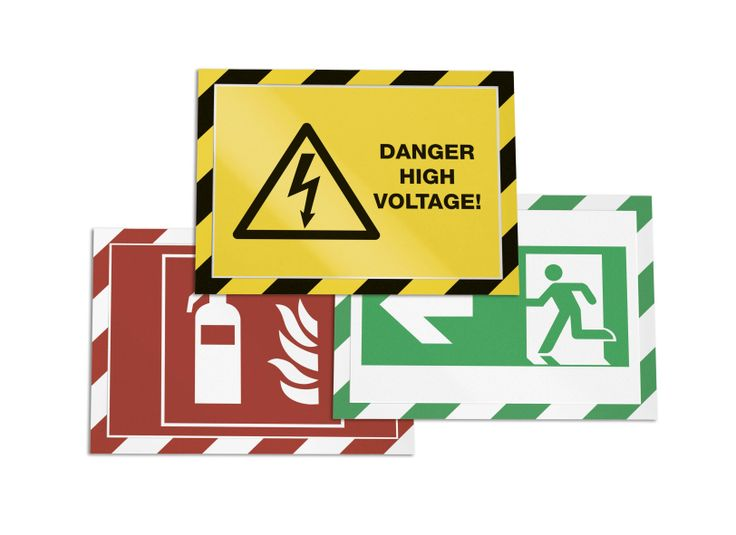 Introduce high visibility health and safety signage into your building with DURAFRAME® Security. Available in 3 colour options, the self adhesive back adheres to any smooth surface and the magnetic frame lifts enabling easy insertion and replacement of information.