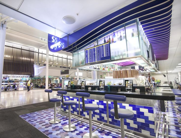 Apropos | Turnkey Restaurant // revolutionary new concept for the airport dining experience, combining stunning designs and integrated cutting edge technology with delicious food // Hospitality Engineered Fabricated Architecture Wood Solid Surface Stainless Steel ICRAVE