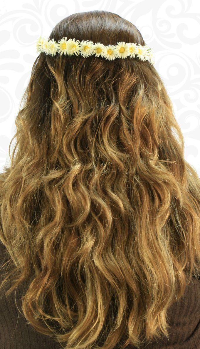 Corona de Flores  / Moda para el cabello / Accesorios / Cabello Largo