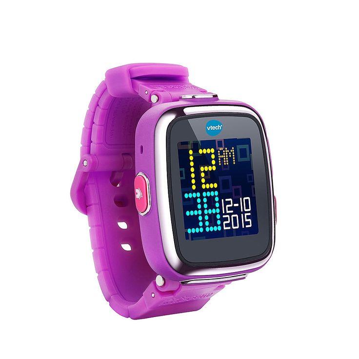 <strong>Vtech - Kidizoom Smartwatch Morado</strong>, ¡la nueva generación de relojes para niños! Tiene pantalla táctil, cámara, varias funciones y 5 juegos. Incluye batería de litio, cable USB e instrucciones. Edad recomendada: +4 años.<br><br>Características:<ul><li>Pantalla táctil<li>Cámara de fotos, vídeo y retoque de fotos<li>Alarma, grabadora, cronómetro, cuenta atrás y 5 juegos<li>Se puede conectar a la plataforma Explor@ Park ...
