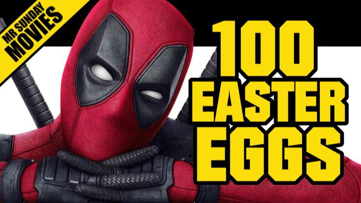 Mr Sunday Movies talks a look at all the easter eggs, secret cameos and hidden references in the new Deadpool movie. Watch all the Deadpool Easter Eggs, References, Cameos, Nods and and so on for t…