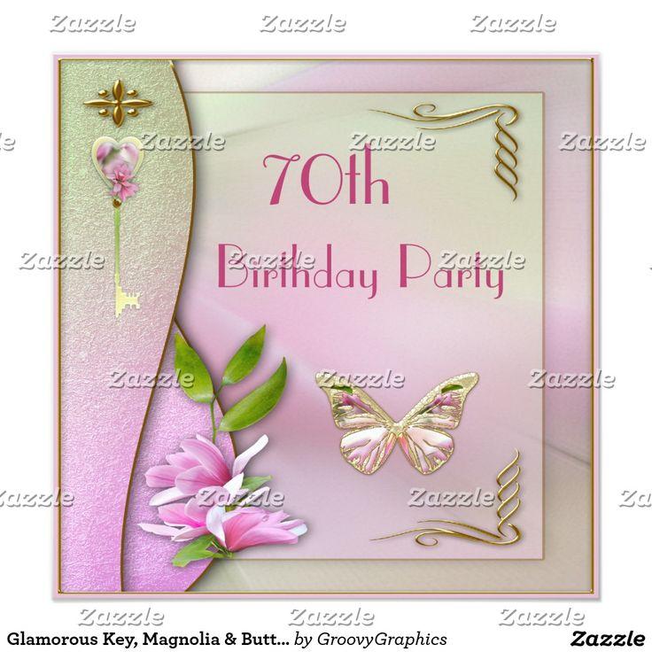 70.o cumpleaños atractivo de la llave, de la