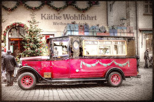 Weihnachtsauto - Christmas car