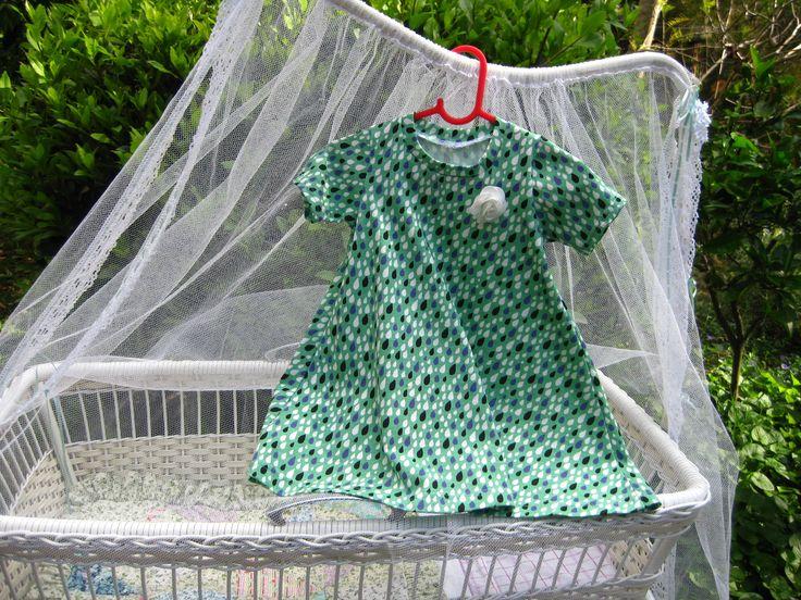 Raindrops Tshirt Dress available through https://www.facebook.com/LittlePeoplesStuff?fref=ts