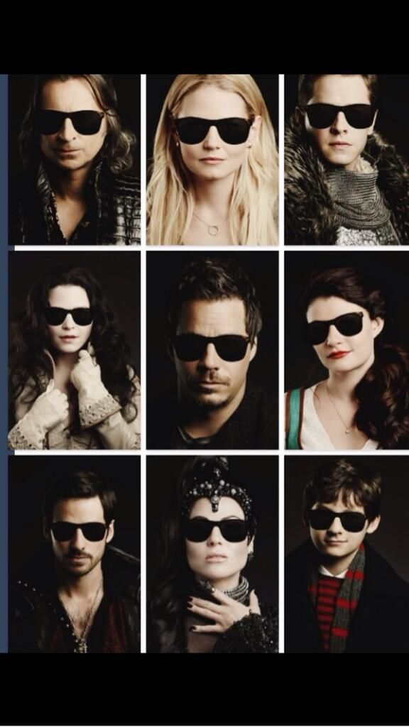 OUAT $wag. Regina's, Hook's, and Snow's- especially Snow's- are perfect.