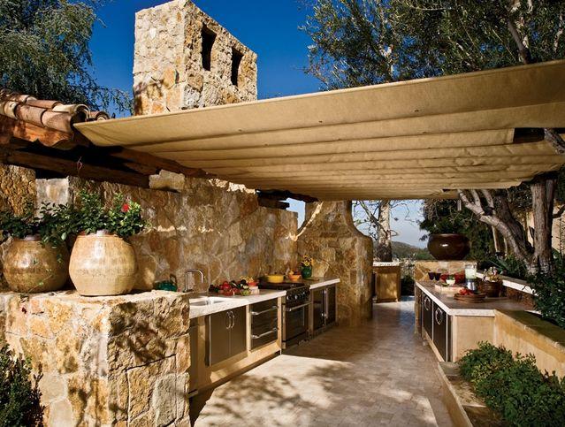 HappyModern.RU | Летняя кухня на даче (53 фото): проекты и варианты · Outdoor  Cooking AreaOutdoor ...