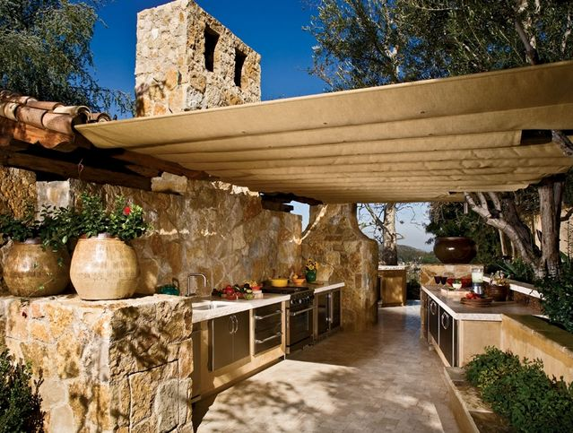 17 best images about outdoor cooking on pinterest stove for Outside cooking area