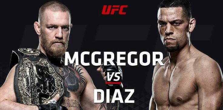 MCGregor / Diaz Fight 3/5/2016