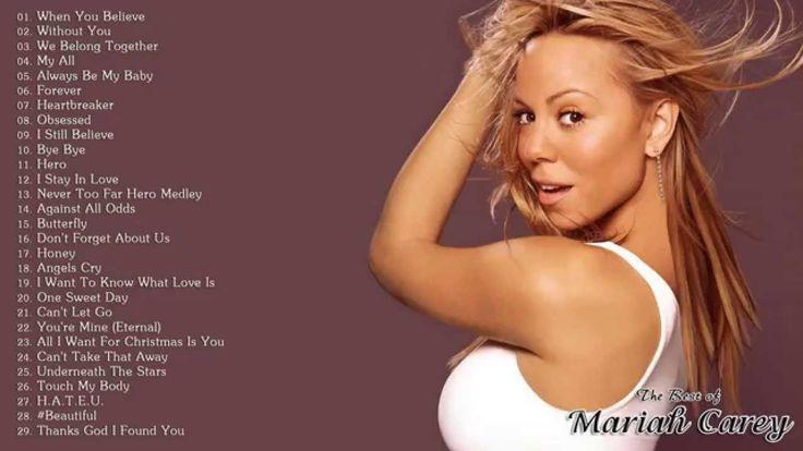 Mariah Carey | Best Songs of Mariah Carey | Mariah Carey Greatest Hits