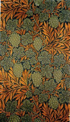 William Morris Textiles. #williammorris, #design, #textiles