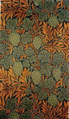William Morris Textiles. #williammorris, #design, #textiles