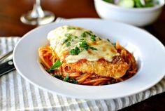 Recette de poulet parmigiana version allégée | Maigrir Sans Faim