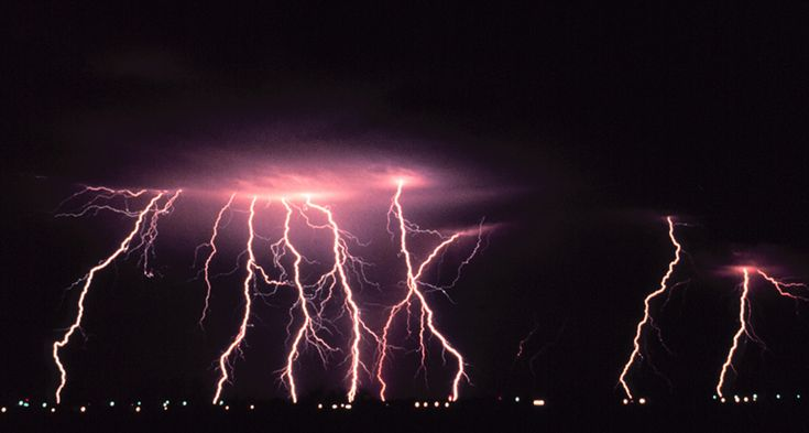 Lightning storms far more intense than any on Earth might explain radio waves that once came from a planet 124 light-years away.