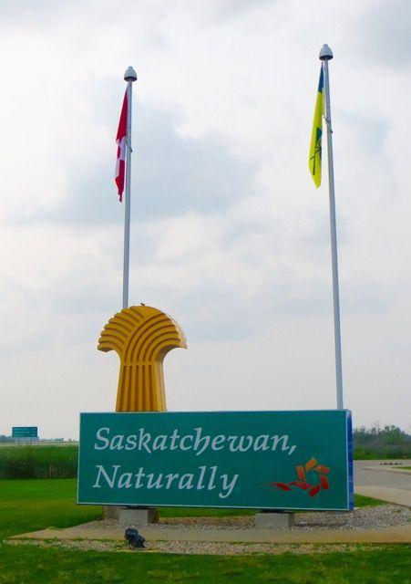 Saskatchewan – Prärie gefunden.