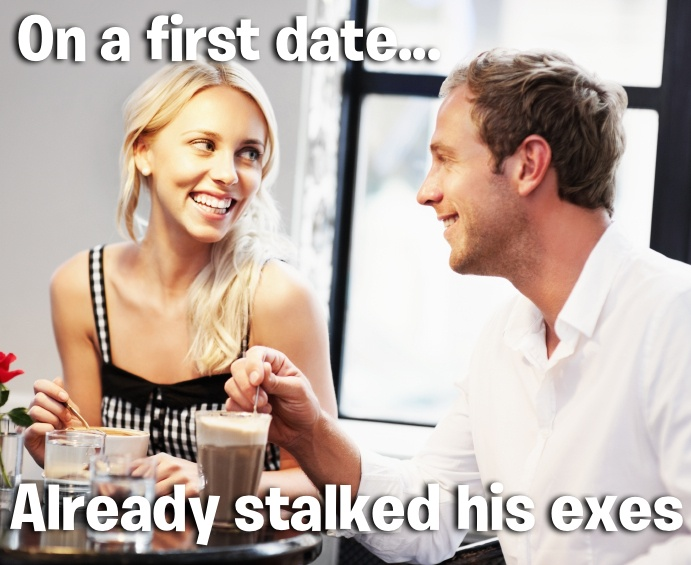 Woman constantly stalks my online dating profile