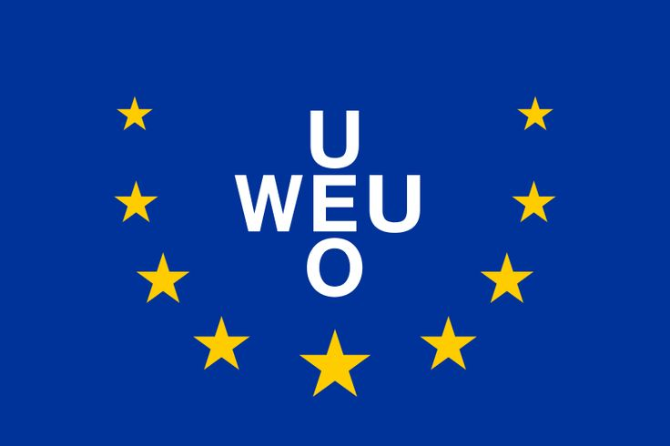 Flag of the Western European Union (until 1993) - Flag of Europe - Wikipedia, the free encyclopedia