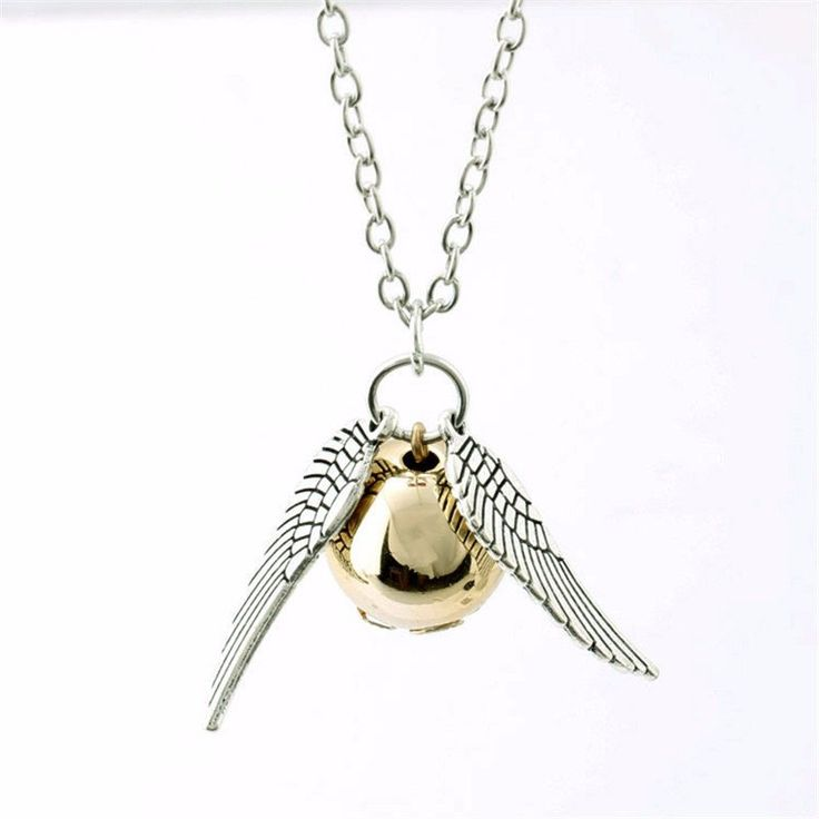 Harry Potter Golden Snitch Necklace & Pendent – Big Star Trading Store