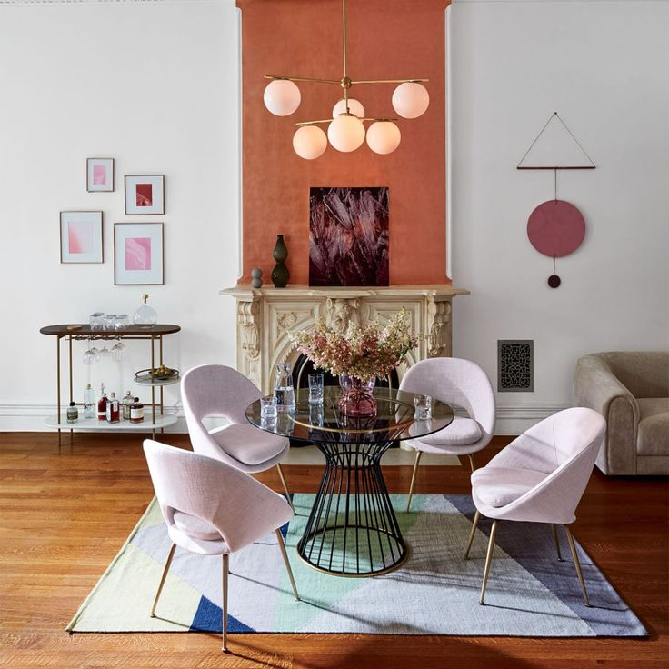 Orb Upholstered Dining Chair | west elm AU