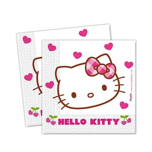 Servilletas #HelloKitty #cumple