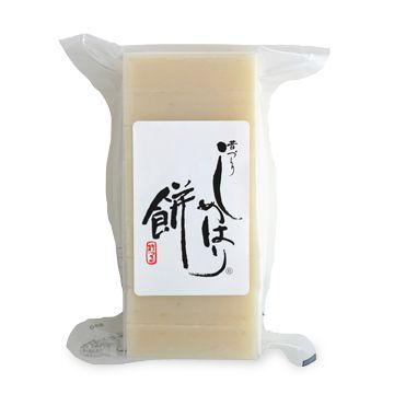 新潟魚沼・しめはり餅 白(500g×3袋) 2520yen お雑煮、きなこ餅に!お米の味が強い新潟魚沼のお餅