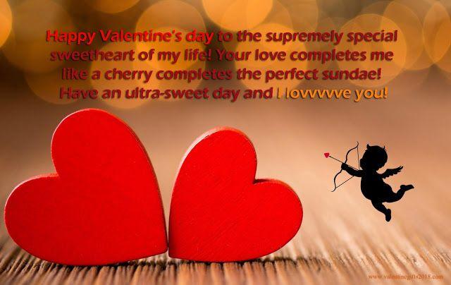 Valentine Messages For Girlfriend 2018, SMS, Valentine Love Quotes, Valentines Day Wishes