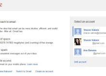 Google updates its multiple account sign in feature to make the log-in process more streamlined. Nice!!