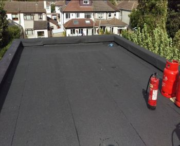 Finsihed Flat Roof Galway City