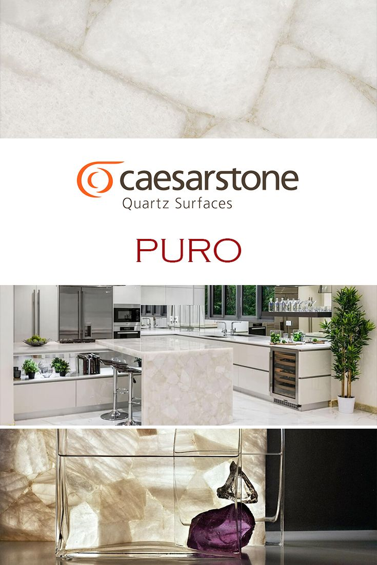62 best caesarstone quartz images on pinterest quartz puro by caesarstone is perfect for a kitchen quartz countertop replacement dailygadgetfo Choice Image