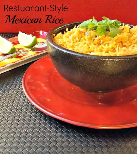 If you're like me and you crave Restaurant- style Mexican rice, the kind you get at a Mexican restaurant than you're going to love this recipe.  There are several Mexican rice recipes out there but this one has the best texture and is closest to Restaurant- style Mexican rice as you will get!