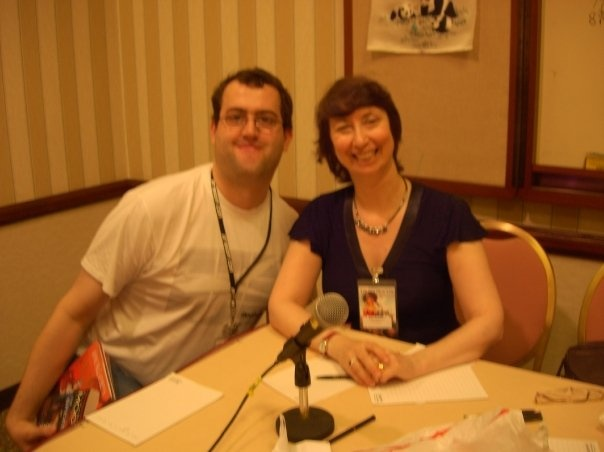 Me with Jody Lynn Nye